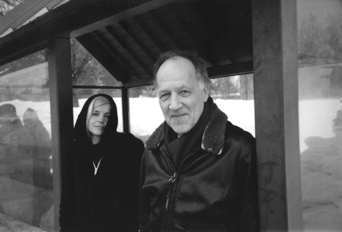 Werner Herzog  and wifeLena  Park City  Utah  2005